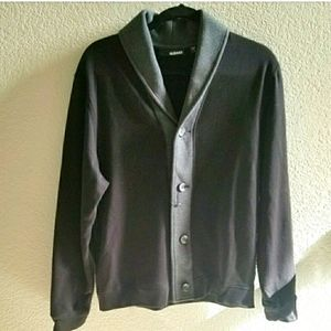 **Murano Button Front Sweater